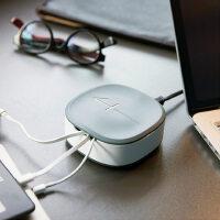 创意个性充电器 emie 4口usb充电器手机通用安卓万能充2A快充插头