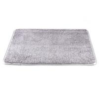 吸水珊瑚绒进门地垫 卧室门垫脚垫厨房地毯浴室门口防滑垫k 59.5x40cm
