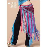 肚皮舞腰链 印度舞蹈表演出腰带巾臀巾流苏三角巾网红同款时尚户外新品配饰