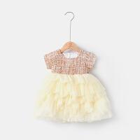 女童婴儿衣服蛋糕裙连衣裙夏装女宝宝