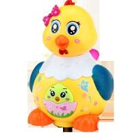 母鸡下蛋玩具 电动会生下蛋电动小鸡儿童玩具小动物音乐男孩宝宝玩具小母鸡 送电池+螺丝刀工具