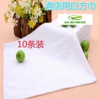 花小毛巾棉四方巾洗脸帕子用柔软正方形儿童手巾白k 0x0cm