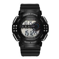 男多功能手表 儿童防水电子手表 学生户外运动电子表 防水夜光男士表