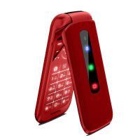 守护宝 上海中兴 K299 全网通4G 老年机翻盖手机大屏大字大声老人电信移动联通手机按键手机