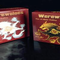狼人游戏牌狼人杀新月狼人4代5代杀人天黑请闭眼扩展桌游狼人3代