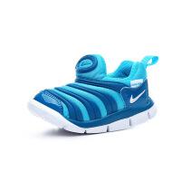 【到手价:199.5元】耐克(Nike)儿童鞋毛毛虫童鞋舒适运动休闲鞋343938-424 蓝色