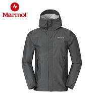 Marmot/土拨鼠户外新款全压胶防水风衣男冲锋衣_S31510