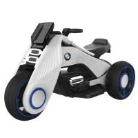 儿童电动摩托车三轮车小孩玩具男女宝宝电瓶车双驱童车大号可坐人