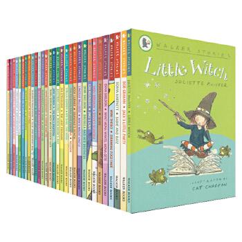 Walker Books Stories 点灯人出品 little witch 30册套装 感恩温馨故事书 桥梁书 英语阅读素材学习书籍 6-10岁 儿童英文原版书