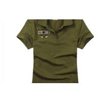 户外迷彩服T恤女短袖特种兵t恤 军装韩版军迷修身棉t恤