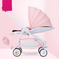 新生儿推车婴儿推车轻便伞车四轮避震折叠可坐躺儿童婴儿车JW190