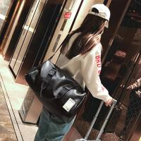 短途旅行包男手提包女大容量旅游包简约行李包防水运动包健身包潮