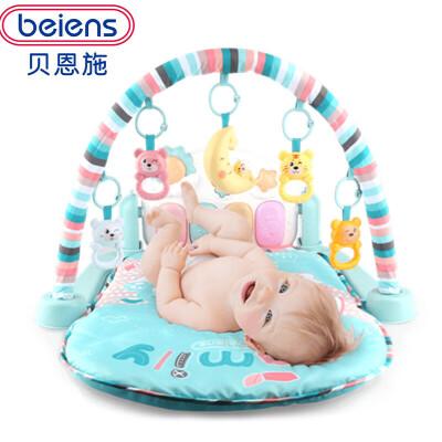 贝恩施婴儿脚踏钢琴健身架器幼儿宝宝婴儿玩具毯0-1岁男女孩3个月 贝恩施婴儿脚踏钢琴健身架器幼儿宝宝
