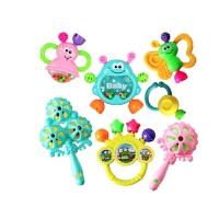 手摇铃新生儿0-1岁婴儿玩具3-6个月女宝宝小孩子2到4男孩5至8岁摇铃