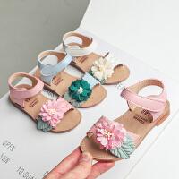 凉鞋夏季儿童公主鞋大童小女孩宝宝凉鞋