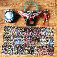 欧布圆环 欧布奥特曼变身器 欧布圣剑欧不之环卡片收纳盒儿童玩具