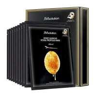 Jmsolution JM肌司研 莹润蜂胶面膜 30ml*10片(JM蜂蜜面膜 保湿补水 营养滋润 紧肤淡皱 控油平衡