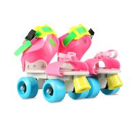 四轮滑冰鞋 滑冰鞋滑板溜冰鞋儿童双排轮滑冰鞋儿童男女鞋全套装