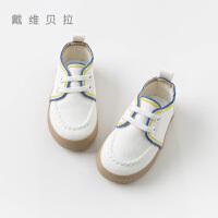 davebella戴维贝拉2020春季新款男童帆布鞋宝宝休闲板鞋DBX12781
