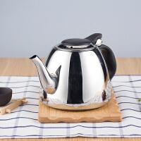 烧水壶级不锈钢 加厚电磁炉水壶茶壶平底功夫小茶壶茶具