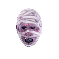万圣节面具恐怖头套鬼吓人男女鬼脸化妆舞会恶魔死神乳胶小丑