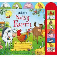 [现货]英文原版 Noisy Farm 好热闹的大农场 有声唱读绘本Usborne