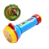 光头强的手电筒 熊出没之变形记声光光头强的手电筒儿童音乐会唱歌玩具大电影 熊出没变形记投影手电筒