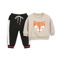 宝宝春秋套装外穿童春装儿童童装婴幼儿衣服两件套