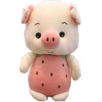 2019�i年吉祥物卡通粉色兔子布娃娃草莓生肖小�i玩偶大�毛�q公仔