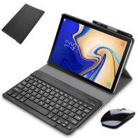 三星Galaxy TAB A 10.5英寸T590蓝牙键盘保护套 平板电脑T595C皮套T597