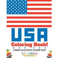 【预订】USA Coloring Book! a Unique Collection of Coloring Page