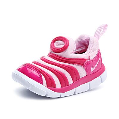 【到手价:239.4元】耐克(Nike)儿童鞋毛毛虫童鞋舒适运动休闲鞋343938-626 玫粉