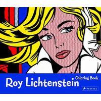 【预订】Roy Lichtenstein Coloring Book