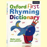 英文原版 Oxford First Rhyming Dictionary 牛津儿童词典 押韵韵律字典 进口牛津英语正版