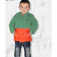 保暖新款时尚棉袄男中小童装 棉服 加厚款
