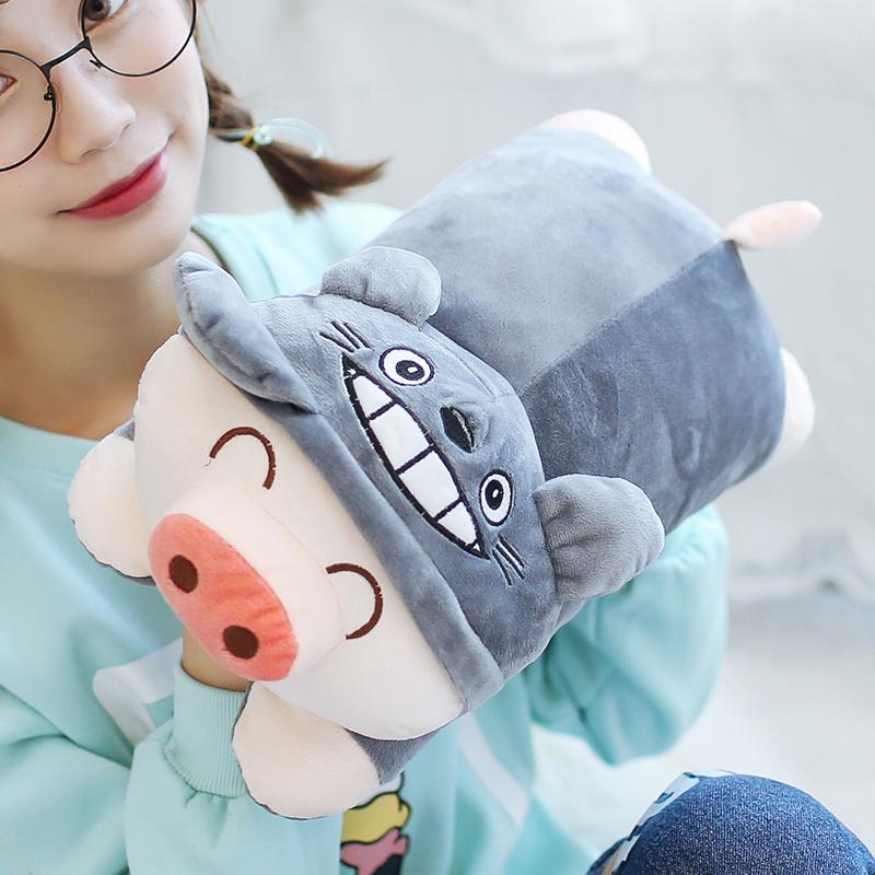 热水袋充电暖水袋煖宝暖宫暖手宝毛绒学生女韩版
