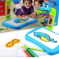 儿童益智早教机 创意绘画工具 画画投影仪 新奇 生日礼物创意
