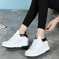 小白鞋女韩版百搭学生休鞋单鞋运动鞋秋冬季新款女鞋板鞋内增高