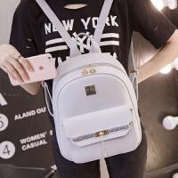 新款女生双肩包女pu皮韩版学生书包小背包时尚流行逛街迷你包