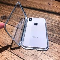 苹果X手机壳iPhoneX磁吸XSMAX玻璃xmax潮牌iPhonexmax全包防摔XR男女iphone网红万磁王新套个