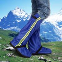 时尚高筒防水雨鞋牛津布加厚鞋底耐磨防滑骑自行车摩托车登山防雨靴套