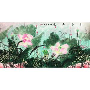 崔艺《花鸟十》著名画家