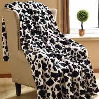 美式法兰绒毛毯加厚保暖珊瑚绒毯冬季盖毯宿舍床单毯子小单人双人