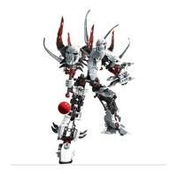 拼装积木玩具生化战士系列英雄工厂巫医9934机器人