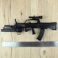 1:3中国95式自动步枪军事武器模型 全金属可拆卸组装不可发射