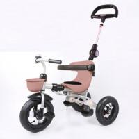 儿童三轮车脚踏车1-3周岁宝宝手推车轻便折叠婴儿小孩童车YW152