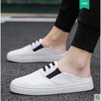 男鞋子韩版潮流学生百搭板鞋休闲鞋透气帆布社会小伙潮鞋白鞋网红同款时尚户外新品
