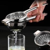 不锈钢 手动柠檬榨汁器果语原汁机家用便携榨汁机手动果汁机
