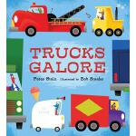 【预订】Trucks Galore 9780763689780