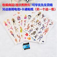 防水小童女孩女童男孩卡通�和��q4男童5硅�z幼�����手表2-3玩具